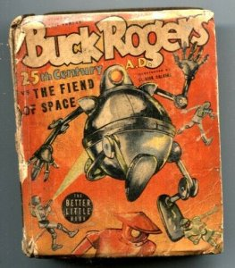 Buck Rogers vs The Fiend of Space Big Little Book 1940
