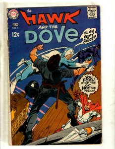 The Hawk & The Dove # 3 FN DC Comic Book Silver Age Gil Kane Art J462