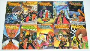 Captain Harlock #1-13 VF/NM complete series BEN DUNN leiji matsumoto set manga