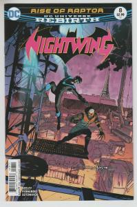 NIGHTWING (2016 DC) #8 NM- A92094