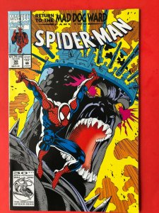 SPIDER-MAN V1 #30 1992 MARVEL / MAD DOG WARD PART 2 / MID GRADE