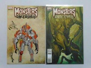 Monsters Unleashed (2016 Marvel) #4E+4D Variants - 8.0 VF - 2016