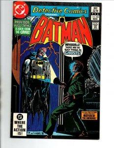 Detective Comics #520 - Batman - Hugo Strange - He-Man MOTU Preview - 1982 - VF