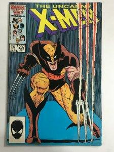UNCANNY X-MEN#207 FN/VF 1986 MARVEL COMICS