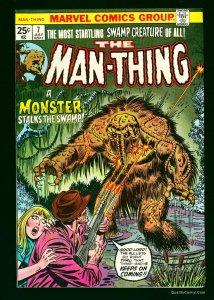 Man-Thing #7 NM+ 9.6 White
