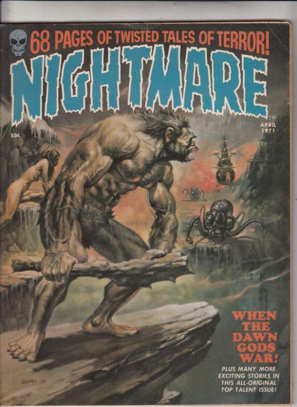 Nightmare Magazine #3 (Apr-71) VF High-Grade