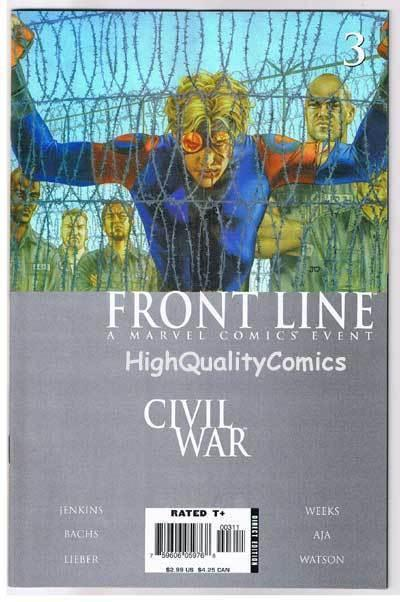 CIVIL WAR : FRONT LINE #3, NM-, Jenkins, Lieber, Bachs, 2006, more in store
