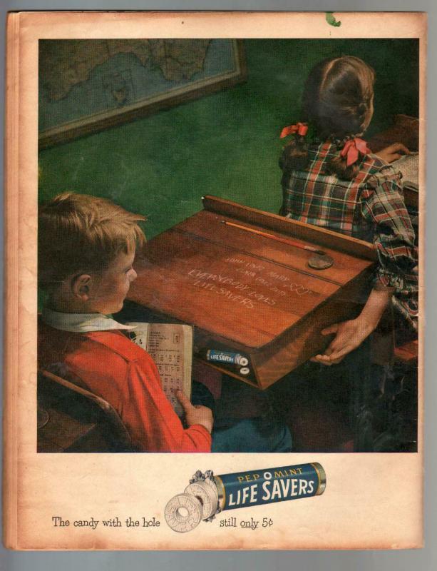 Tops #2 1949 VERY RARE oversized GGA Lev Gleason comic book