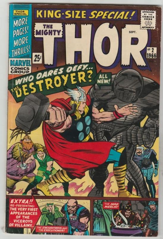Thor, The Mighty King-Size Special #2 strict FN+ 6.5  High-Grade    Destroyer