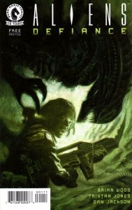 ALIENS DEFIANCE #1 Preview / Ashcan edition, NM-, 2016, Brian Wood