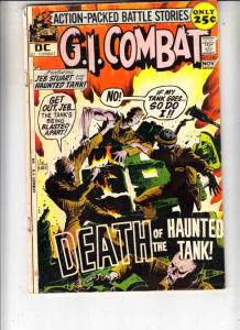 G.I. Combat #150 (Nov-71) VG+ Affordable-Grade The Haunted Tank, Ice Cream So...