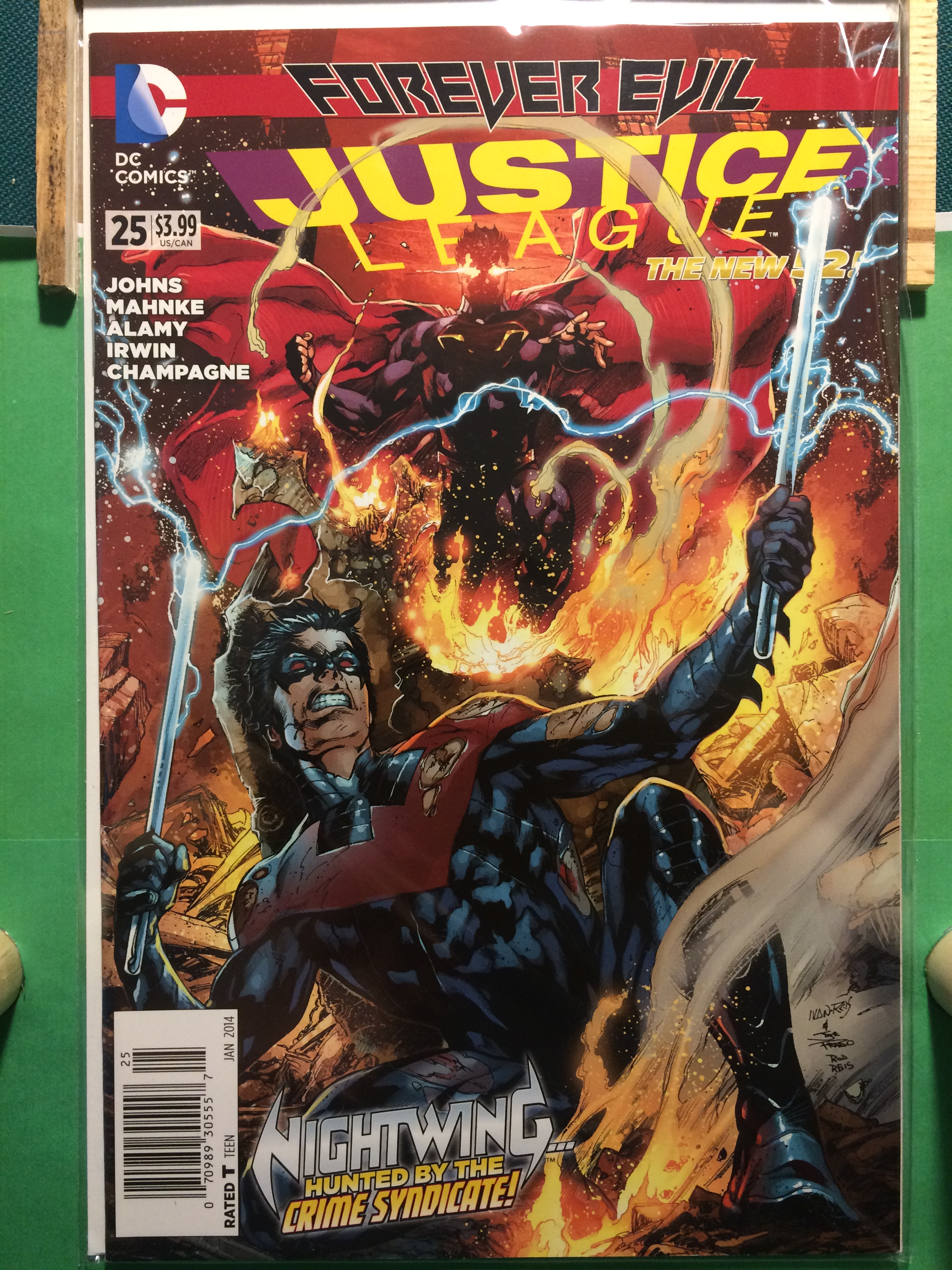 Justice League 25 The New 52 Forever Evil Comic Books Modern Age Dc Comics Justice League Superhero Hipcomic