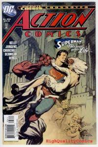 ACTION COMICS #836, NM+, Superman, Infinity Crisis, Bermejo , Jurgen