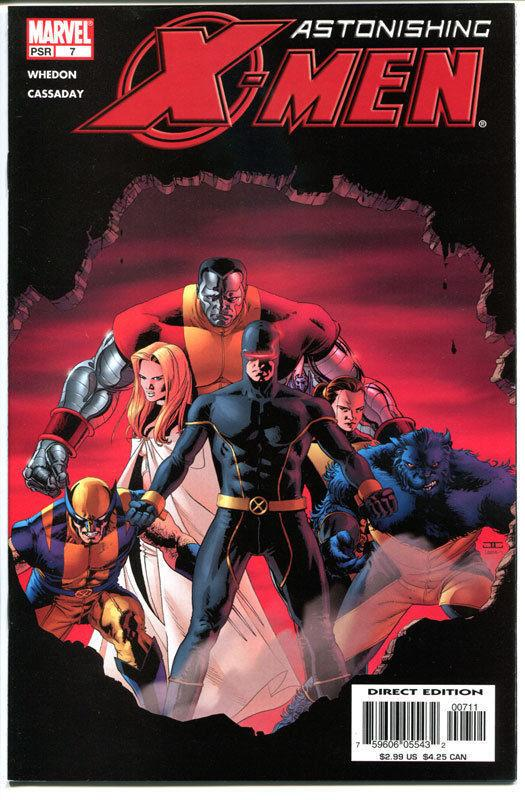 ASTONISHING X-MEN #7, NM+, Wolverine, Joss Whedon, 2004, more in store