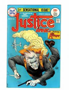JUSTICE INC  1 FINE-VERY FINE May/June 1975