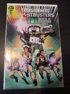 TRANSFORMERS/GHOSTBUSTERS #1 VARIANT