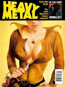 Heavy Metal #62 FN; Metal Mammoth   save on shipping - details inside