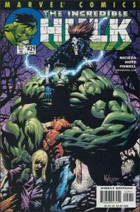 Marvel THE INCREDIBLE HULK (2000 Series) #29 VF