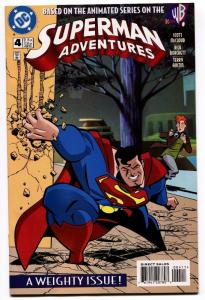 SUPERMAN ADVENTURES #4-FIRST APPEARANCE OF LIVEWIRE-1997!!