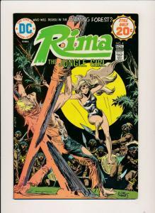 RIMA the Jungle Girl #4 - DC COMICS 1974 ~ Fine/Fine- (PJ01)
