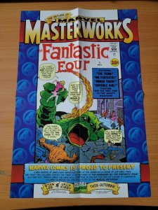 18 x 12 Marvel Masterworks Fantastic Four #1 Promo Poster NO PIN HOLES NEW