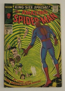 Amazing Spider-Man Annual #5 1st App Richard & Mary Parker 1968 Silver Age VG