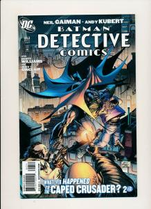 DC BATMAN DETECTIVE COMICS #853 Neil Gaiman & Andy Kubert VF/NM (PF782)