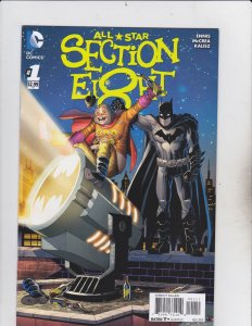 DC Comics! All-Star Section Eight! Issue 1!