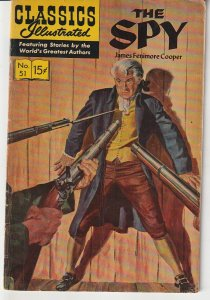 Classics Illustrated # 51   The Spy