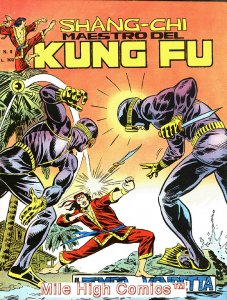 SHANG-CHI MAESTRO DEL KUNG FU MAGAZINE ITALIAN (1975 Series) #8 Near Mint