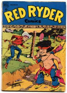 Red Ryder #56 1948-Dell Western Golden Age- G/VG