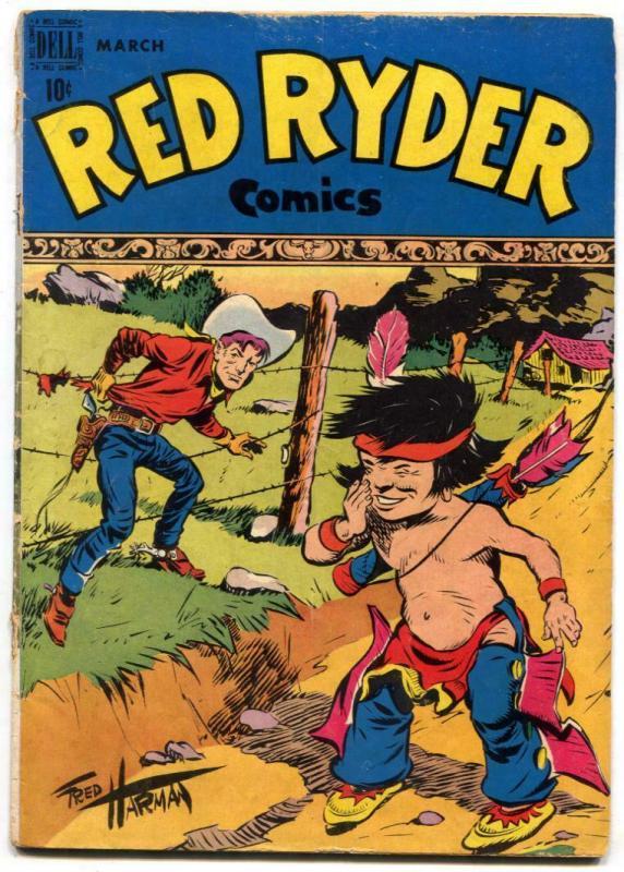 Red Ryder #56 1948-Dell Western Golden Age- G/VG