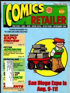 Comics Retailer 1989-info on selling comic books-FN