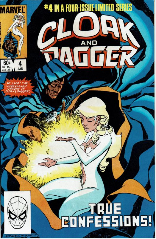 Cloak and Dagger #4, 9.4 or Better (1)