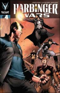 Harbinger Wars #4A VF/NM; Valiant | save on shipping - details inside