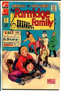 Partridge Family #9 1972-Charlton-David Cassidy-Shirley Jones-Susan Dey-G