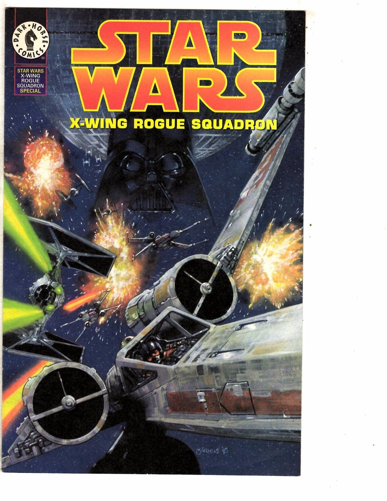 Lot Of 4 Star Wars X-Wing Rogue Squadron Dark Horse Comics