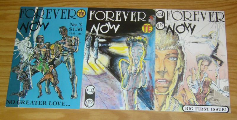 Forever Now #1-3 VF complete series - homage to edvard munch's the scream