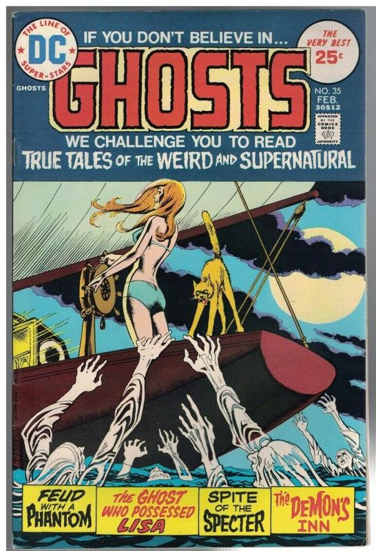 GHOSTS 35 FN  Feb. 1975