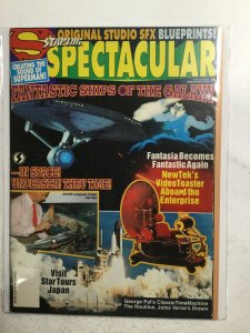 Starlog Spectacular 4 Magazine Fine Fn 6.0 Jacobs Publication