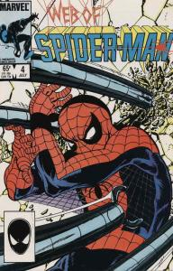 Web of Spider-Man, The #4 VF; Marvel   save on shipping - details inside