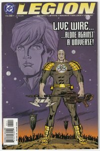 The Legion #32 Live Wire Alone Against A Universe! June 2004 DC
