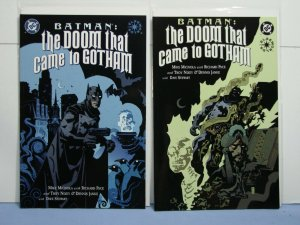 Batman: The Doom That Came To Gotham (DC Elseworld 2000) Books #1 & #2 Mignola!!