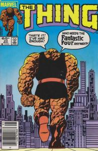 Thing, The #23 (Mark Jewelers) FN; Marvel | save on shipping - details inside