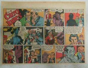 Miss Cairo Jones Sunday by Bob Oksner from 2/10/1946 Size: 11 x 15 inches GGA