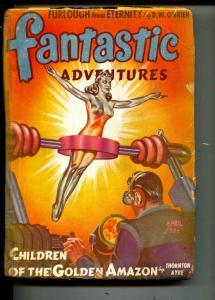 Fantastic Adventures-Pulp-5/1943-Thornton Ayre-Clee Garson