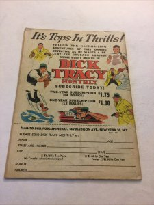 Dick Tracy Monthly 18 Gd Good 2.0 Dell Comics