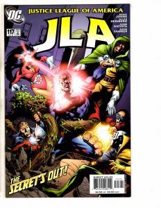 Lot Of 8 JLA DC Comic Books # 117 118 119 120 121 122 123 124 Batman Flash J261