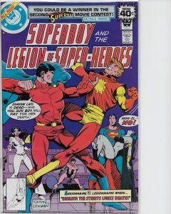 Superboy and the Legion of Super-Heroes #248 (1979) Whitman Cover