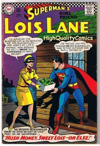SUPERMAN'S GIRLFRIEND LOIS LANE 71, FN, 2nd Catwoman, 1958, more CW in store